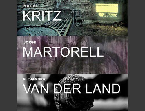 Jorge Martorell junto a Kritz y Van Der Land