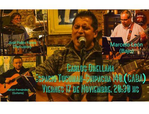 Carlos Orellana, folclore y raíz