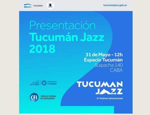 Presentación Tucumán Jazz 2018