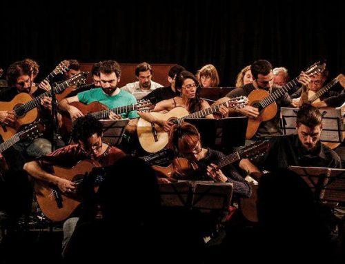 Orquesta El Guitarrazo en concierto