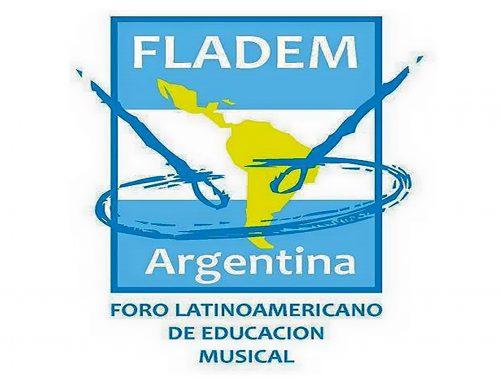 Queremos Cantar! – Capacitaciones FLADEM. Sábado 25 de Agosto – 10hs/ 14hs