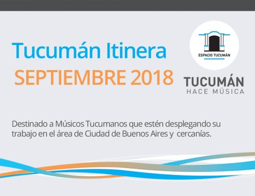 Tucumán Itinera / Septiembre
