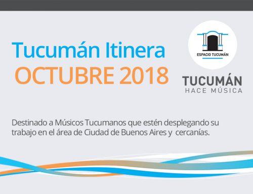 Tucumán Itinera / Octubre