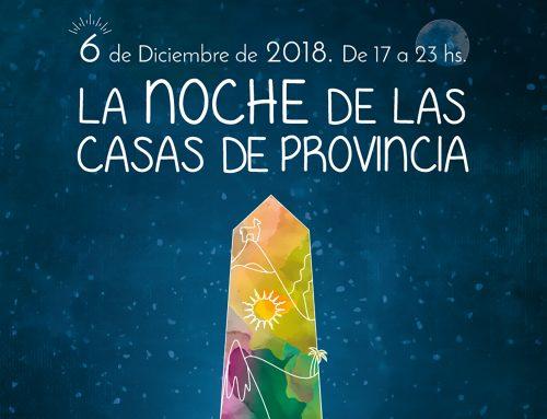 Noche de las Casas de Provincia. Jueves 6 de Diciembre – 18hs