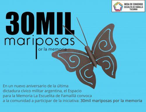 30.000 Mariposas por la memoria. Hasta 19 de Marzo