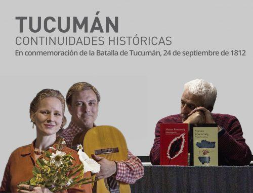 Cantos y memorias argentinas. Martes 24 de septiembre en la Biblioteca Nacional – 19hs
