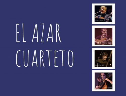 Recital: El Azar Cuarteto. Jueves 12 de septiembre – 21hs