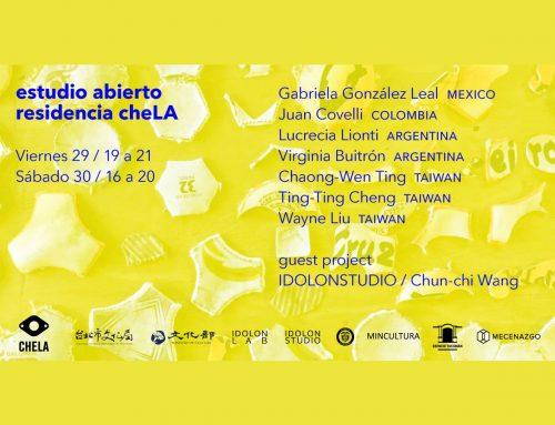 Lucrecia Lionti: Estudio abierto residencia cheLA. Sábado 30 Noviembre – 16 a 20 hs.