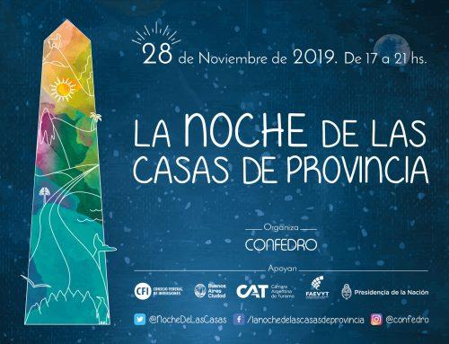 Noche de las Casas de Provincias. Jueves 28 de noviembre – Desde las 17hs