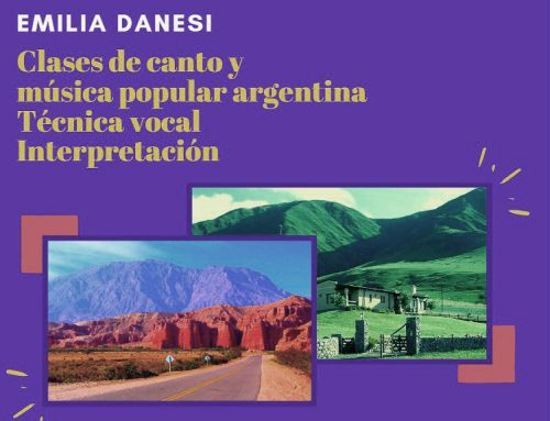 Emilia Danesi. Clases de canto y música popular argentina