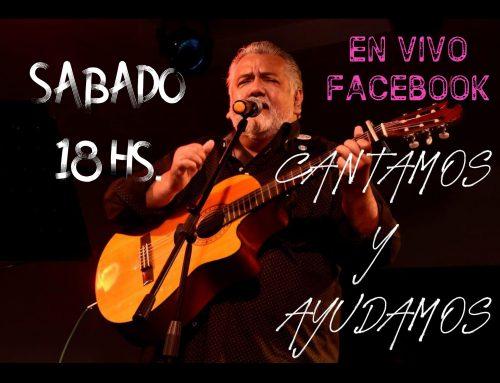 Mario Cabrera: Cantamos y ayudamos! Viernes 3 – 21hs / sábado 4 de julio  – 18hs