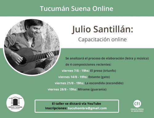 Capacitación online: Julio Santillán