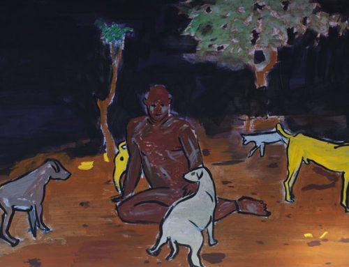 Matías Tomás en XIII Premio Nacional de Pintura del Banco Central 2020