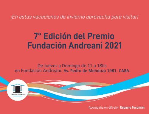 Tucumanes en Premio Fundación Andreani 2021