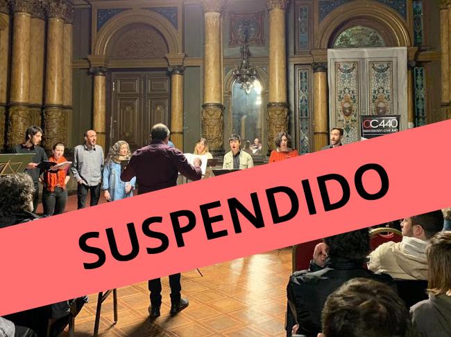 SUSPENDIDO // Capella Necia canta  Silvio Rodriguez.  Sábado 14 de marzo, 20hs