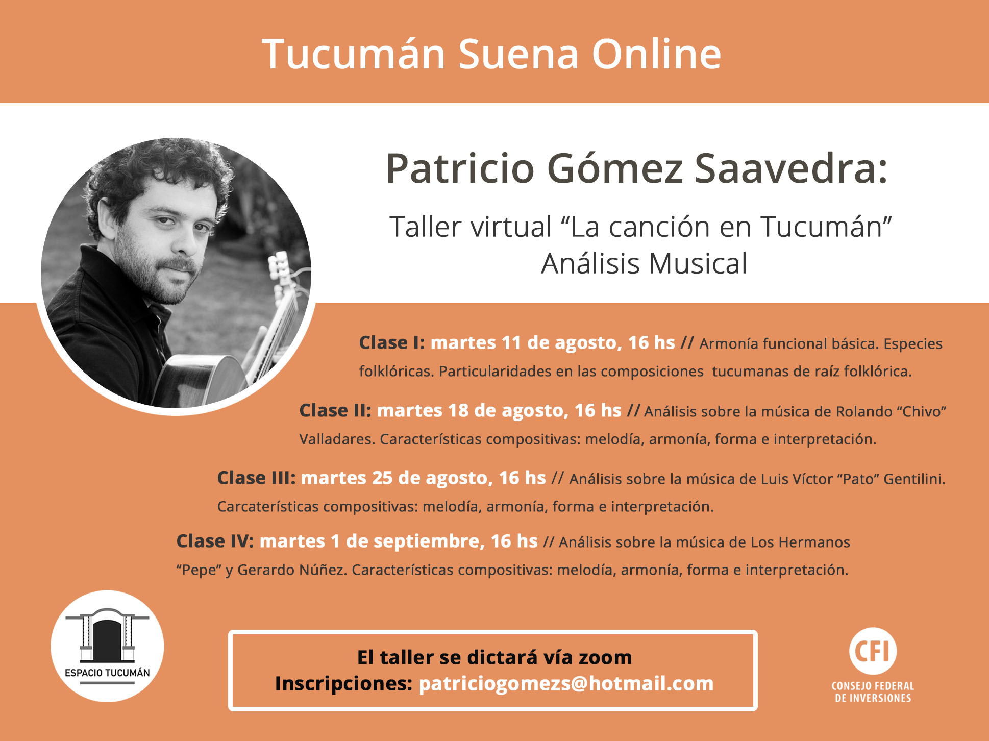 Taller Virtual: Patricio Gómez Saavedra