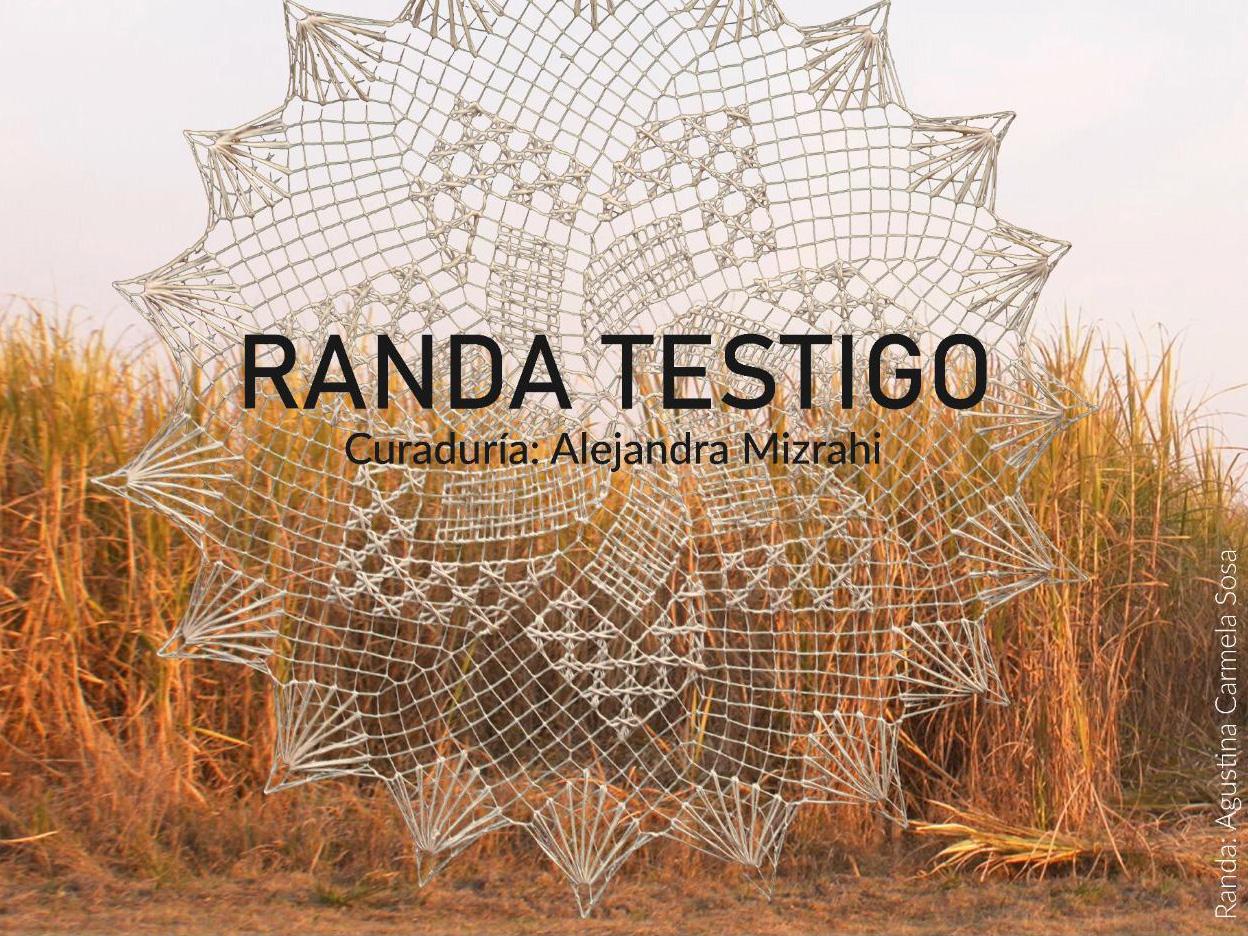 Randa Testigo de Alejandra Mizrahi en el Museo del Traje.