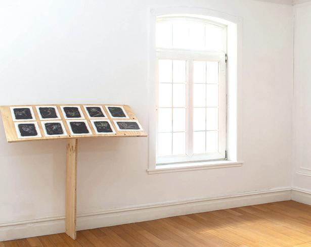 Tucumanes en el mundo: Gabriel Chaile en Galería Barro